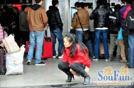 中国小便1
