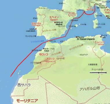 三千里地図・0