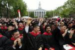 母校ハーバード大学の懐かしい卒業式