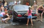 我が家の洗車風景