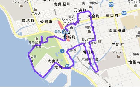 8月10日JR長浜