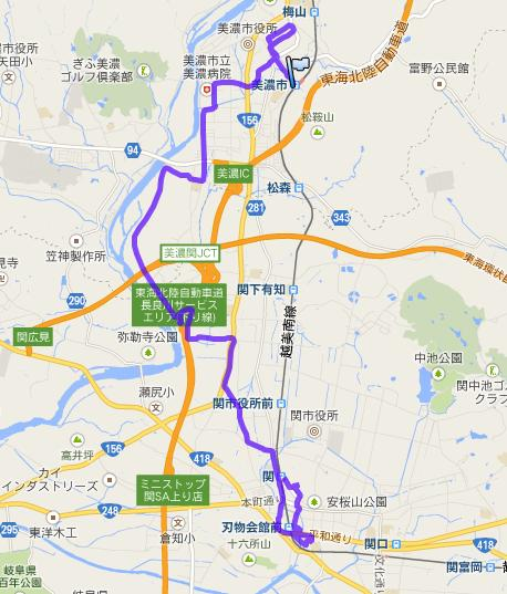 11月2日JR(美濃市駅~関駅)