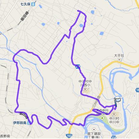 中川アルプス展望さわやかウォーク・1日目