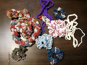 編み物完成品131007