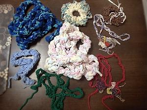 編み物完成品131015