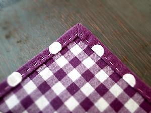13夏休み企画額縁縫いのランチョンマット