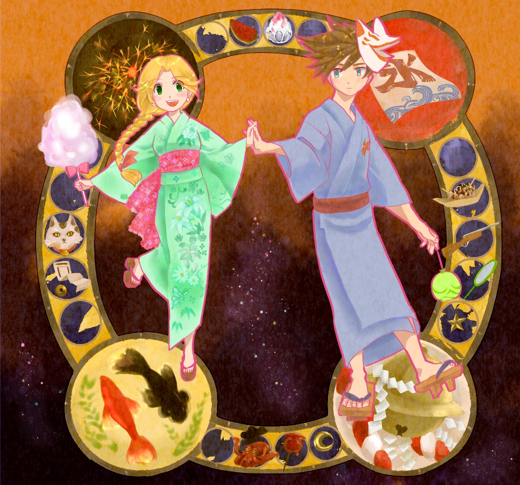 夏祭りの曼荼羅2