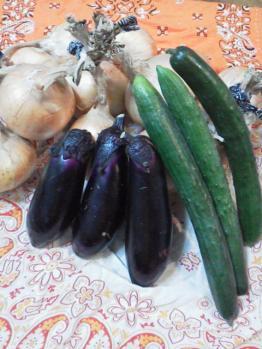 20130627野菜~~~♪もらったよぉ