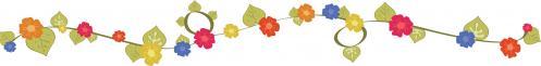花カラフル