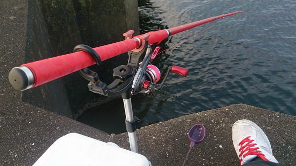 7:00 ごろ釣り開始 ^^;