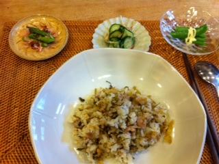 高菜焼き飯