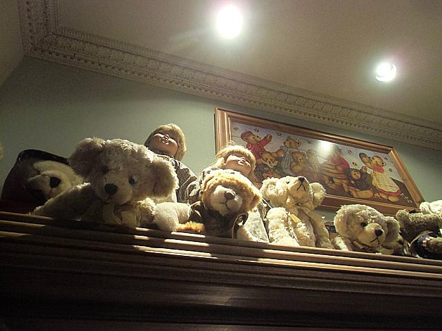2-西洋の人形と熊ちゃん