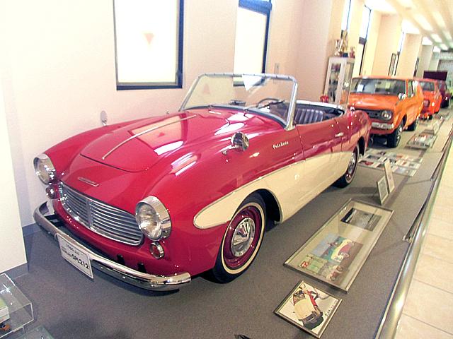 8-自動車の展示