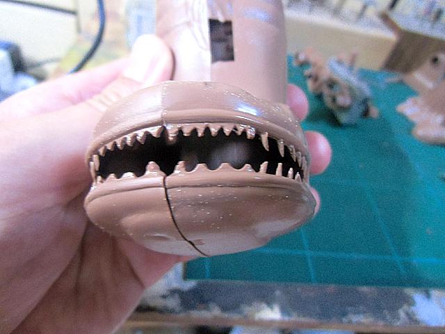6-ばらしたナマズの歯
