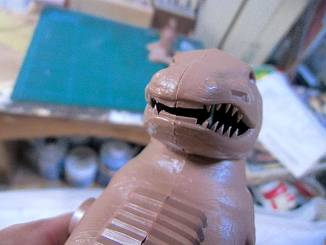 7-つながったモグラの歯