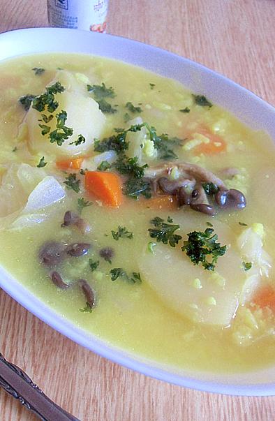 ごはんスープ