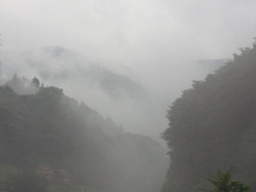 霧の匹見町