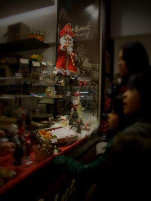 クリスマスウィンドウショッピング
