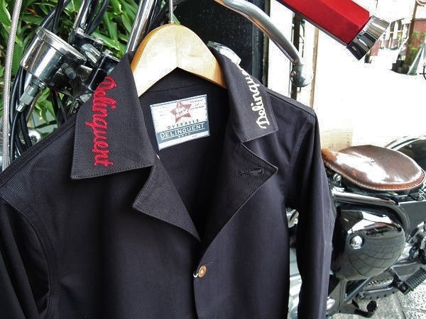 Delinquent Bros Delinquent Girl Coverall Jkt (22)