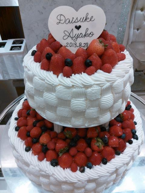ケーキもかわいすぎる