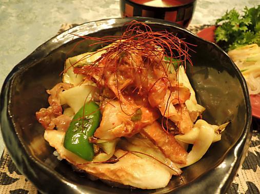4月7日 豚バラキャベツ丼