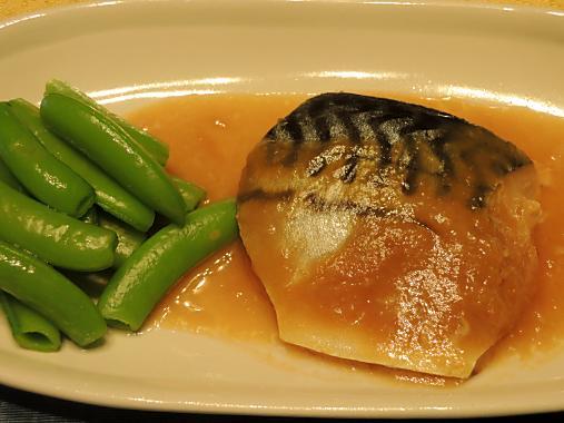 4月17日 鯖の味噌煮