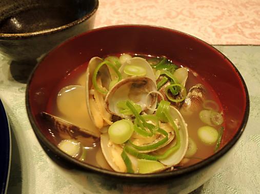5月5日 アサリのお味噌汁