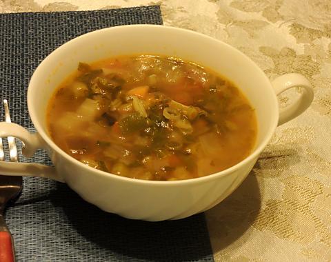 6月21日 スープ