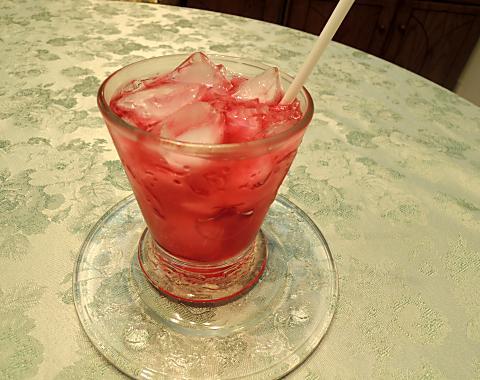 7月12日 紫蘇ジュース