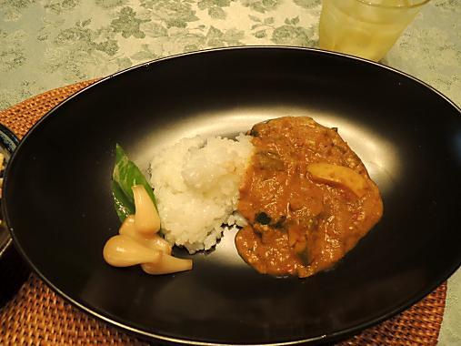 8月31日 野菜カレー