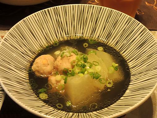 9月9日 冬瓜スープ