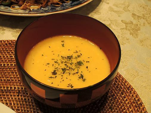 9月27日 かぼちゃスープ