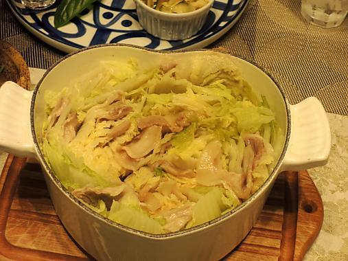 10月3日 豚バラ白菜