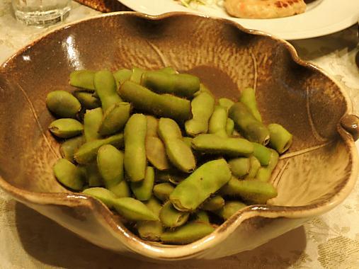 10月23日 枝豆