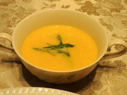 10月25日 かぼちゃスープ