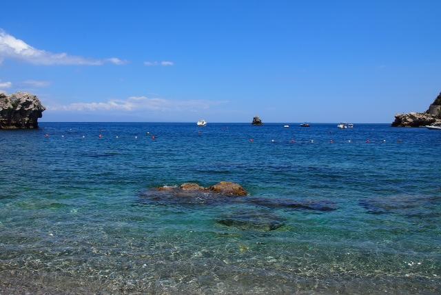 タオルミーナ海4