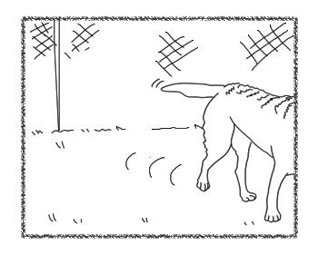 羊の国のラブラドール絵日記シニア!!「風上におく」5