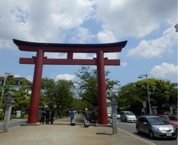 鎌倉「喫茶室ピナコテカと鶴岡八幡宮」19