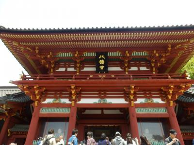 鎌倉「喫茶室ピナコテカと鶴岡八幡宮」7
