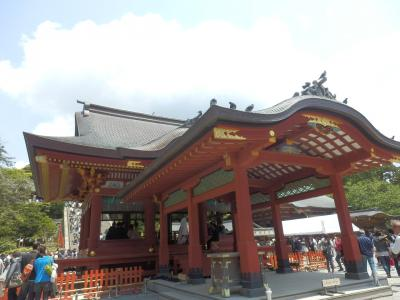 鎌倉「喫茶室ピナコテカと鶴岡八幡宮」8