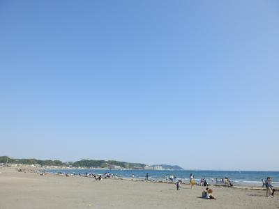 鎌倉「りせっとかふぇと由比ガ浜海水浴場」4