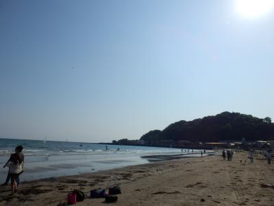 鎌倉「りせっとかふぇと由比ガ浜海水浴場」6