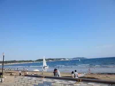 鎌倉「りせっとかふぇと由比ガ浜海水浴場」7