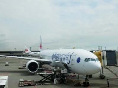 JAL「成田→クアラルンプール」1
