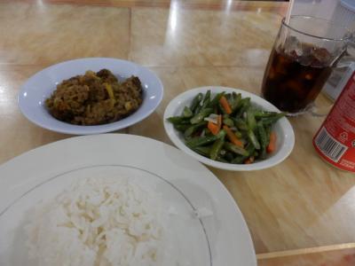 ブルネイでの食事1