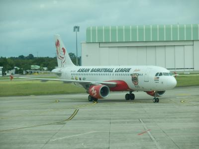 エア・アジア「ブルネイ→クアラルンプール」1