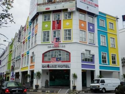 マレーシア・マラッカ「Dreamz Hotel」1