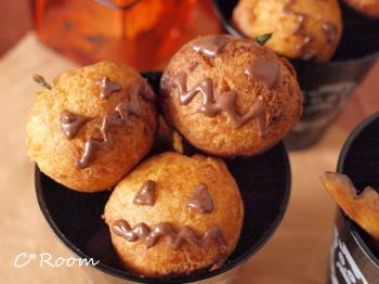 かぼちゃドーナツ4