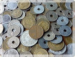 フランス アンティーク コイン