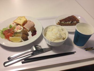 IKEA夕食